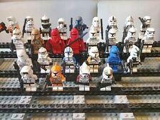 Lego Star Wars Figuren 27 Stk. mit Bewaffnung Trooper Clone ARC Elite Guard