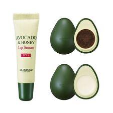SkinFood Avocado Olive Lip Balm + Lip Scrub + Lip Serum SET (3pcs)