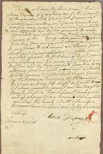 American Colonial Era Manuscript Document, New York State, 1787, Caughnawaga
