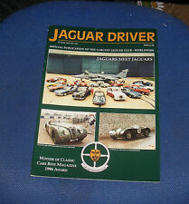 JAGUAR  DRIVER ISSUE 445 AUGUST 1997 - JAGUARS MEET JAGUARS