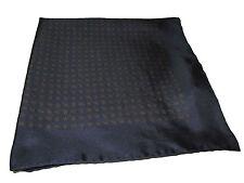 Ralph Lauren Navy Blue Paisley Silk Polo Italy Pocket Square Scarf Handkerchief