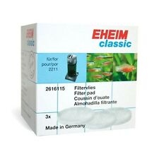 Eheim Batch of 3 Cushions Wadding for Filter Classic 150/2011/2211 Ref 2616115