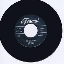 TINY TOPSY - YOU SHOCKED ME / MISS YOU SO (Female Rhythm & Blues Jive & Stroll)