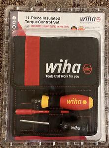 Wiha Insulated  Torque Control Set NEW