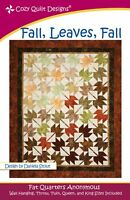 Fall, Leaves, Fall Quilt Pattern by Cozy Quilt Designs
