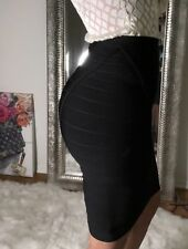 690$ Herve Leger black bandage skirt Small