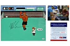"Mike Tyson SIGNED ""Punch Out"" 16x20 Photo / Poster - PSA/DNA Witness Autograph"