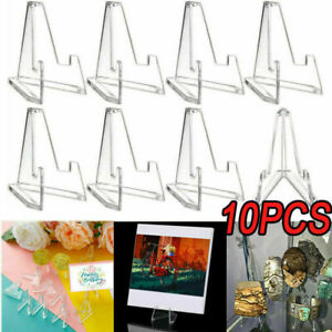 10x Large PSA Card Stand Display Stands Coins Small Box Paper Clip Holder Tool
