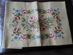 Partially Done Tapestry by Beverley - Floral