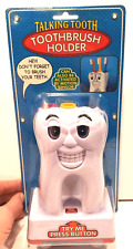 Talking Tooth Toothbrush Holder Motion Sensor Activated Don't Forget To.. Kids