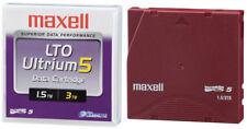 Maxell 22932300 Cartouche de bande LTO-5 Ultrium 1,5 To / 3 To - Simple