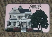 SHEILA'S COLLECTIBLES RECTANGLE PINK LAPEL PIN W WHITE HOUSE store promo PINBACK