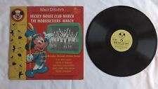 The Mouseketeers - 78rpm EP 10-inch - Mickey Mouse Club #BDR50 Mickey Mouse Club