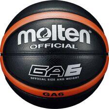 molten Basketball Ga6 artificial leather No.6 orange black Bga6-Ko 4905741826765