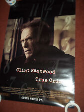 Clint Eastwood True Crime Movie Poster Double Sided