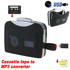 New Tape to Pc Super Usb Cassette-to-Mp3 Converter Capture Audio Music Pla bf