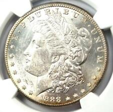 1888-S Morgan Silver Dollar $1 - Certified NGC MS60 - Rare Date - Near MS UNC!