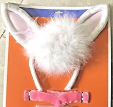 Easter Bunny Costume Adult Accessory Kit Set Sexy pompom Tail Collar Ears new