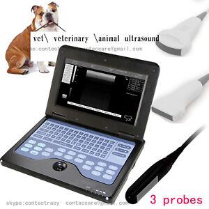 CE veterinary VETultrasound scanner Laptop Scanner machine,rectal,convex,linear