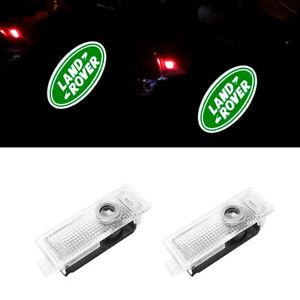 2PCS LED Car Courtesy Door Step Logo Light Shadow Laser Projector for LAND ROVER