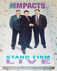 The Impacts Stand Firm Live NEW VHS Kentucky Gospel Music