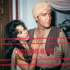 """ELVIS PRESLEY in the Movies 1965 8x10 Photo """"Harum Scarum"""" Mary Ann Mobley"""