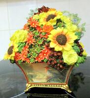 "BRADFORD EXCHANGE   "" Morning Serenity ""   Flower Arrangement    24cm High"