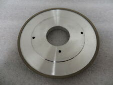 175 mm x 10 mm x 50 mm Diamond 4A2P Facing Grinding Wheel 400 Grit 100 Con New