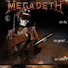 So Far,So Good...So What de Megadeth | CD | état bon