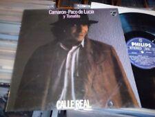 Camaron Paco De Lucia Tomatito Calle Real LP Espana