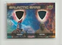 Guardians of the Galaxy Vol.2 Dual Galactic Garb Costume Trading Card DM-13