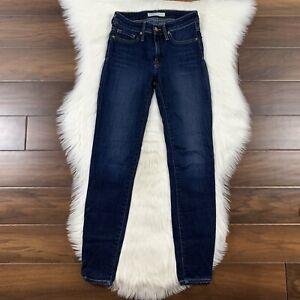 Joie Women's Size 24 Medium Wash Ravine Skinny Legging Denim Jeans
