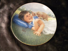 Curious Kitten Robert Anderson Little Girls Cat Plate