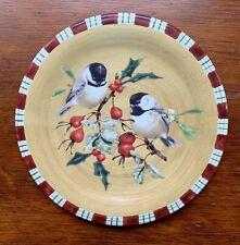 New ListingLenox Winter Greetings Everyday Chickadee Salad Plate Birds Holiday Christmas 🎄