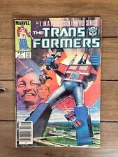 Transformers #1 By marvel Comics Newsstand Edition
