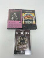 The Shirelles Cassettes Greatest Hits Tape Original Recordings- HARD TO FIND LOT