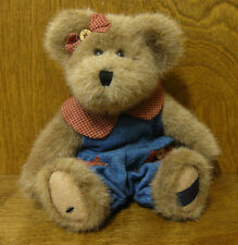 """Boyds Bear #2002-51 MAGGIE D. BERRIWEATHER, 10"""" F.O.B., NEW FROM RETAIL STORE"""