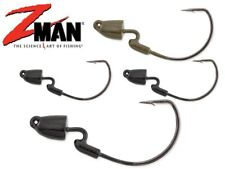 Z-Man Finesse Bullet Z Jig Heads TRD Weedless Soft Plastic Lure Fishing Zman lrf