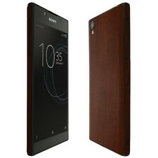 Skinomi Dark Wood Skin+Clear Screen Protector for Sony Xperia L1