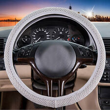 Sandwich Fabric Handmade Steering Wheel Cover Breathability Skidproof