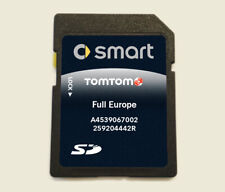 2020 SMART 453 TomTom Sat Nav NAVIGATION MAP SD Card All Europe and UK IRE