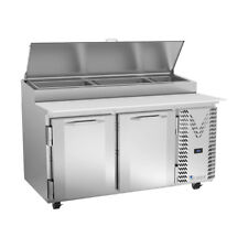 Victory Vpp60hc 60 Pizza Prep Table Refrigerated Counter