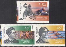 Australian Olympics Postal Stamps