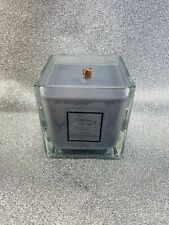 Vicks Vapour Rub Cube wooden wick fragranced candle
