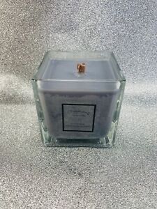 Highly scented, handmade, Cube, soy wax creed-like candle