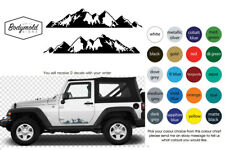 JEEP Smokey Mountain decals
