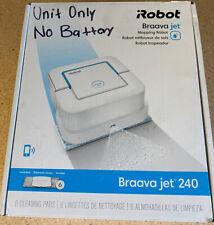iRobot Braava jet 240 App Controlled Robot Mop - White UNIT ONLY