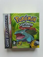 POKEMON LEAFGREEN Nintendo Gameboy ADVANCE Game GBA NEW FACTORY SEALED RED STRIP