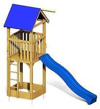 WINNETOO Spielturm Kletterturm Holzspielhaus Stelzenhaus Rutsche Sandkasten GP27