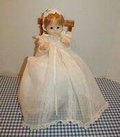 vintage Madame Alexander Sweet Tear Tagged Christening dress Hat Booties Diaper